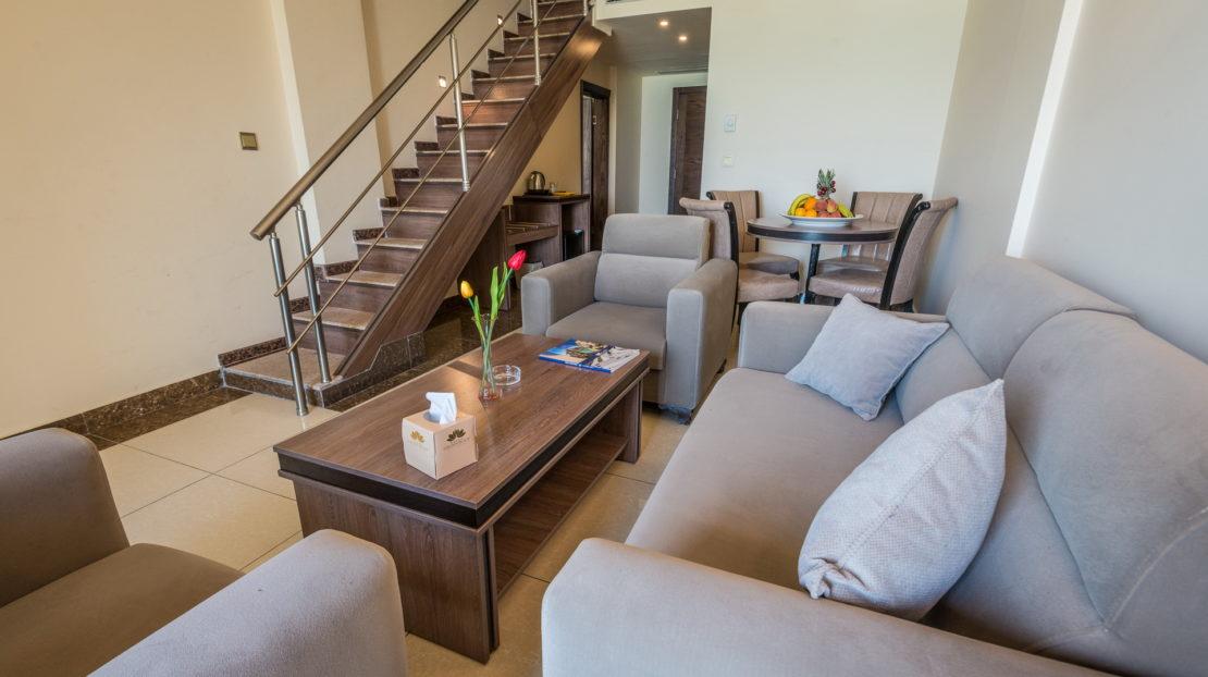 Duplex and Family duplex living room